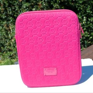 Michael Kors Quildted Pink iPad Case